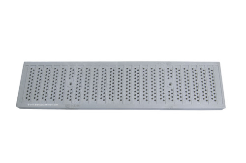 NDS Dura Slope Plastic Perforated Grate - Gray (Each)