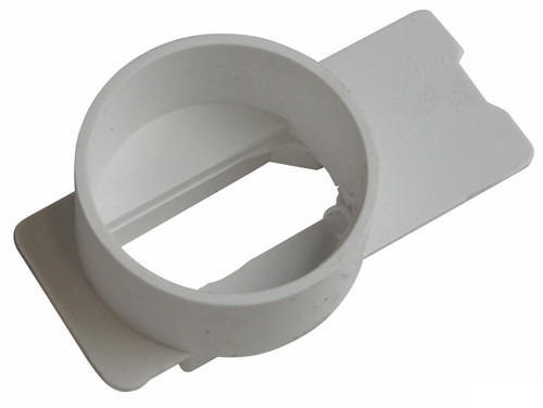 NDS Micro Channel End Outlet - White