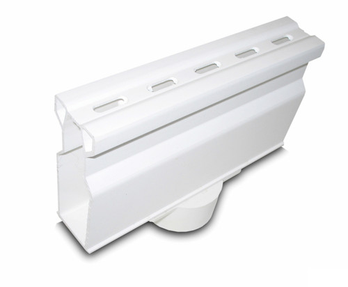 NDS Micro Channel Bottom Outlet - White