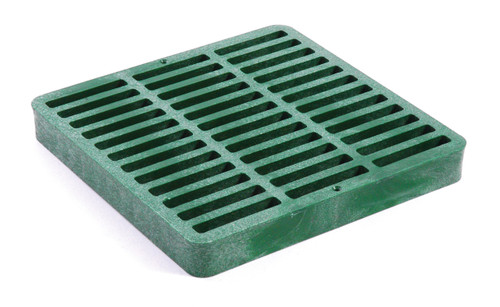 """NDS Square Plastic Grate for 9"""" Basin - Green (Each)"""