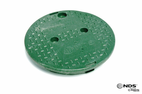 "NDS 10"" Valve Box Cover ONLY - Green"