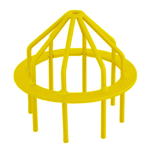 "Bar Guard Intake  6"" (Heavy Duty) Yellow"