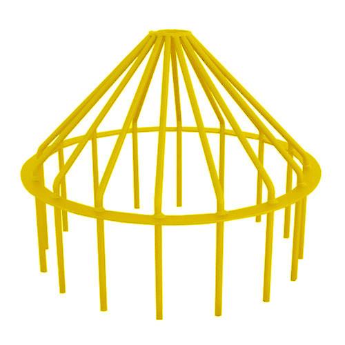 "Bar Guard Intake 24"" (Heavy Duty) Yellow"