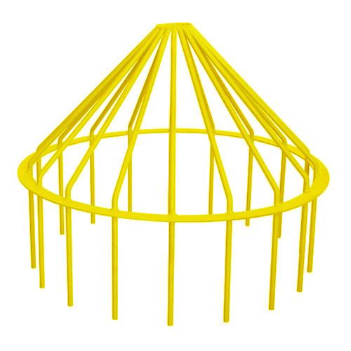 "Bar Guard Intake 30"" (Heavy Duty) Yellow"