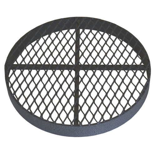 """Standard Metal Grate for 15"""" CMP or PVC Pipe"""
