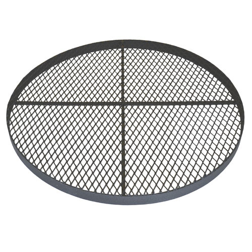 """Standard 36"""" Metal Grate for for Corrugated Plastic Pipe"""