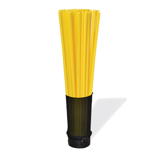 """Water Quality Inlet, 6"""" Diameter 36"""" Tall (Yellow)"""