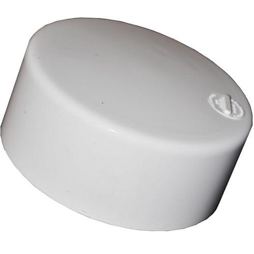 "6"" PVC SDR35 Solvent Weld Cap (S)"