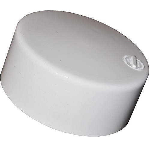 "8"" PVC SDR35 Solvent Weld Cap (S)"