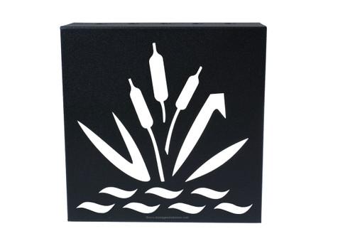 "Decorative Retaining Wall Drain 5"" x 5"" (Black Iron)"
