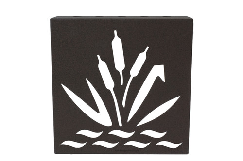 """Decorative Retaining Wall Drain 6"""" x 6"""" (Weather Brown)"""