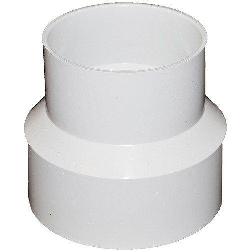 """8"""" X 6"""" PVC SDR35 Solvent Weld Reducer Coupling (S x S)"""