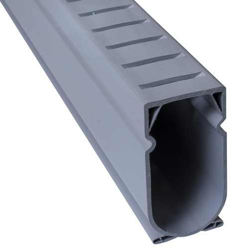 Stegmeier Deck Drain (Grey) 5'