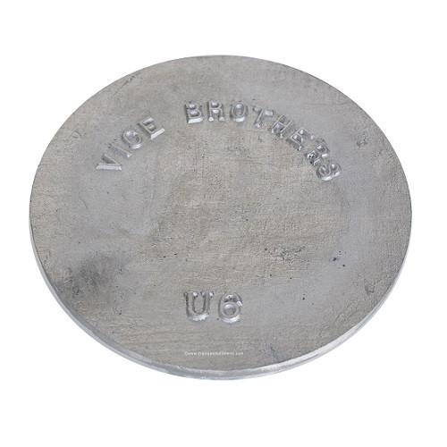 """8"""" Aluminum Solid Cover"""