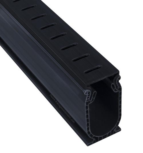 Stegmeier Frontier Deck Drain (Black) 5' (Box of 8)
