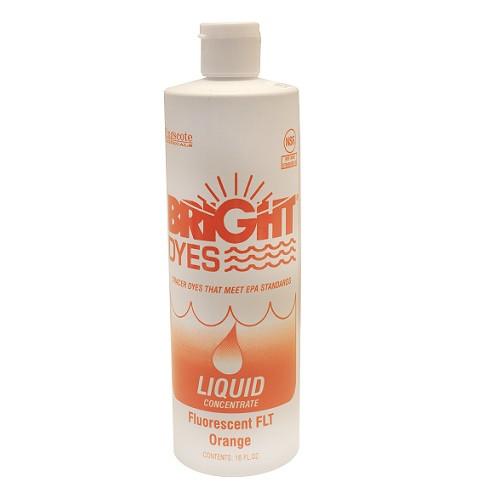 Bright Dyes Fluorescent FLT Orange Dye Liquid (Pint)