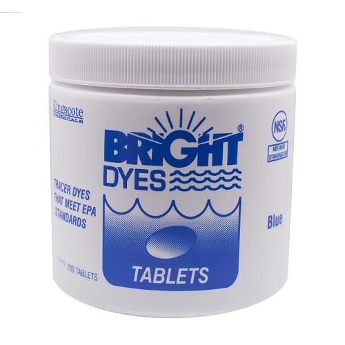 Bright Dyes Standard Blue Tracer Dye Tablets (200 Tablets)