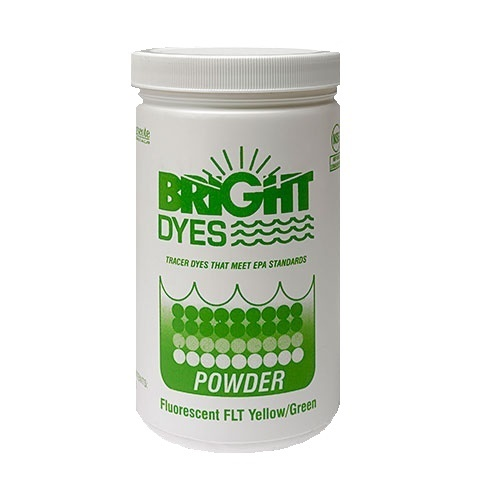 Bright Dyes Fluorescent FLT Yellow/Green Dye Powder