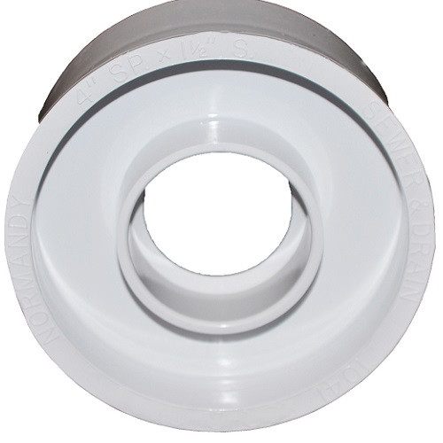 "3"" PVC SDR35 X 1 1/2"" DWV Solvent Weld Reducer Bushing (Sp x S)"