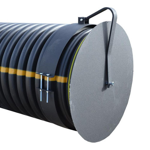 """Flap Gate 48"""" for Corrugated Plastic Pipe"""