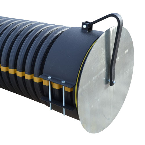 """Flap Gate 12"""" for Corrugated Plastic Pipe"""