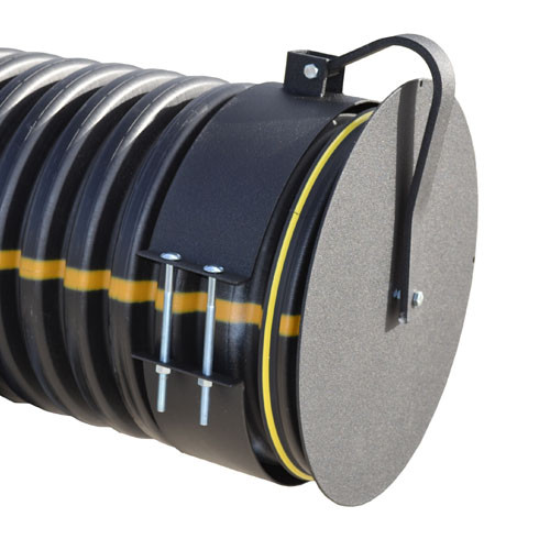 """Flap Gate 18"""" for Corrugated Plastic Pipe"""