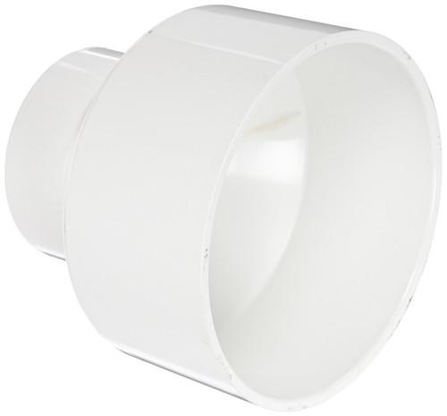 "3"" x 1 1/2"" PVC DWV Increaser Coupling (S x S)"