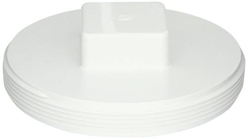 """6"""" PVC Cleanout Plug (MPT)"""