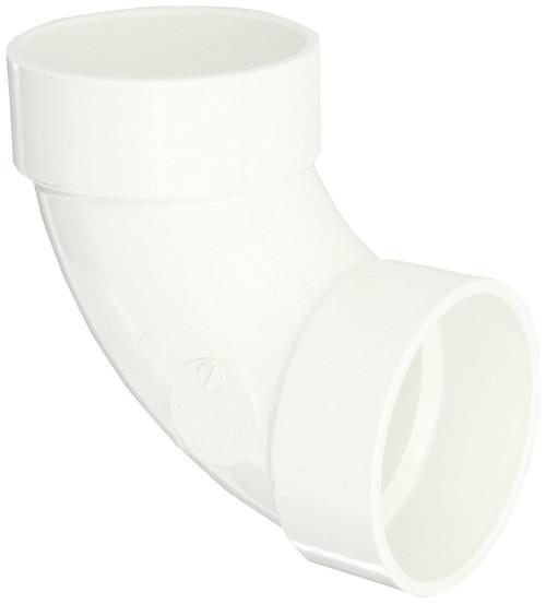 "6"" PVC DWV 90 (1/4) (S x S)"