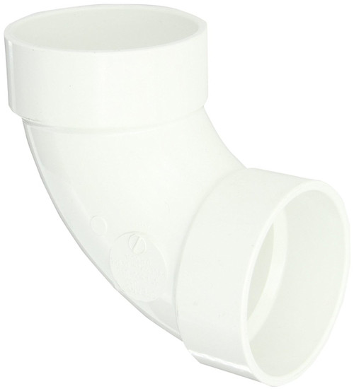 "3"" PVC DWV 90 (1/4) (S x S)"