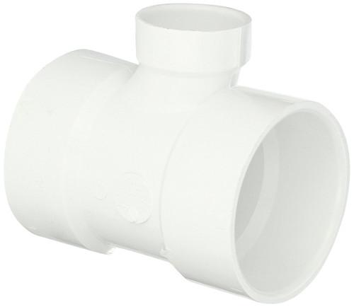 "3"" x 3"" x 1 1/2"" PVC DWV Sanitary Tee (S x S x S)"