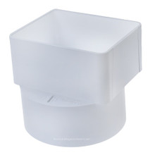 Pvc 3 X 4 X 4 Sdr35 Downspout Adapter Offset Dsa X Hub The Drainage Products Store