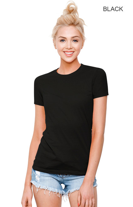 1210 - Women's Cotton Crew Neck T-shirt