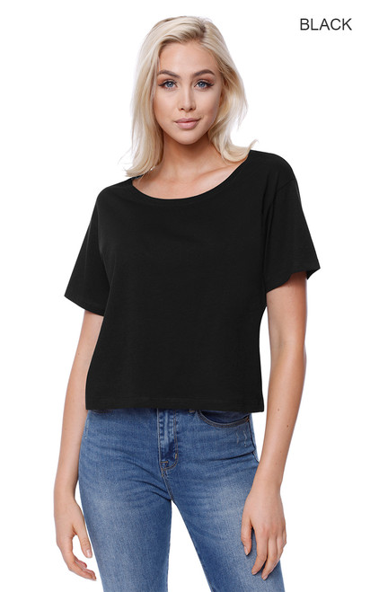 1161 - Women's Cotton Boxy T-shirt