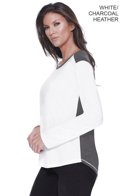 1472 - Women's CVC Melrose Long Sleeve Top