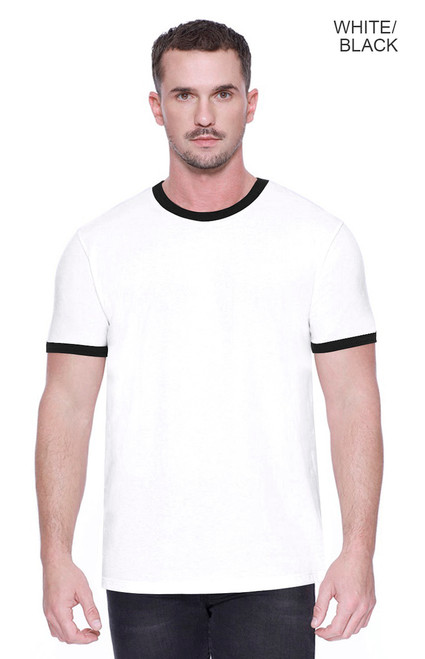 2431 - Men's CVC Ringer T-shirt
