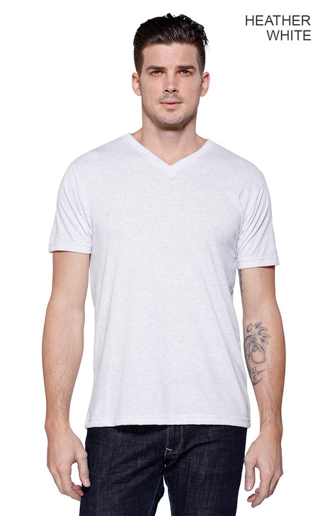 2512 - Men's Triblend V-Neck T-shirt