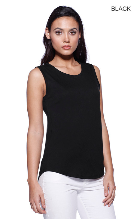 1452 - Women's CVC Sleeveless T-shirt