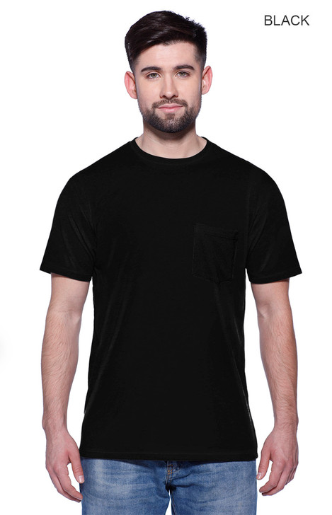 2440 - Men's CVC Pocket T-shirt