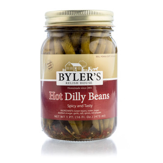 With a precise combination of dill and green beans, these crisp and crunchy green beans will be a snack or side dish you will be sure to love!