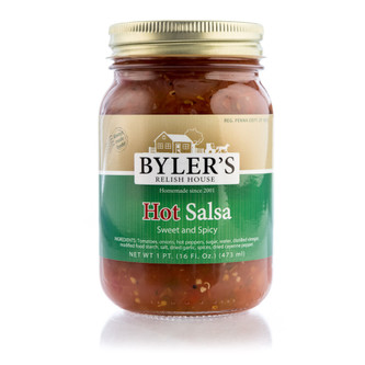 Sweet, spicy salsa with crushed vine-ripened tomatoes, fresh jalapeño peppers and onions diced to perfection