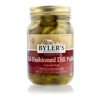True to their name these crunchy-crisp pickles combine just the right amount of dill and tartness that you might expect from an old-fashioned recipe.