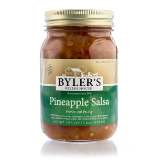 This is not your typical salsa. Our crushed vine ripened tomatoes, fresh peppers, onions, and juicy pineapples diced to perfection. Our signature blend of spices set this salsa apart from others! Enjoy a sweet, savory fruit salsa that is sure to have your taste buds begging for more!