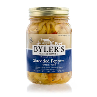 We've created a relish just for you die-hard pepper lovers! Soaked in a vinegar brine and packed in oil, an assortment of colorful sweet peppers mingles with spices.