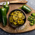 Signature bread and butter pickle with the spicy kick and flavor of jalapeño