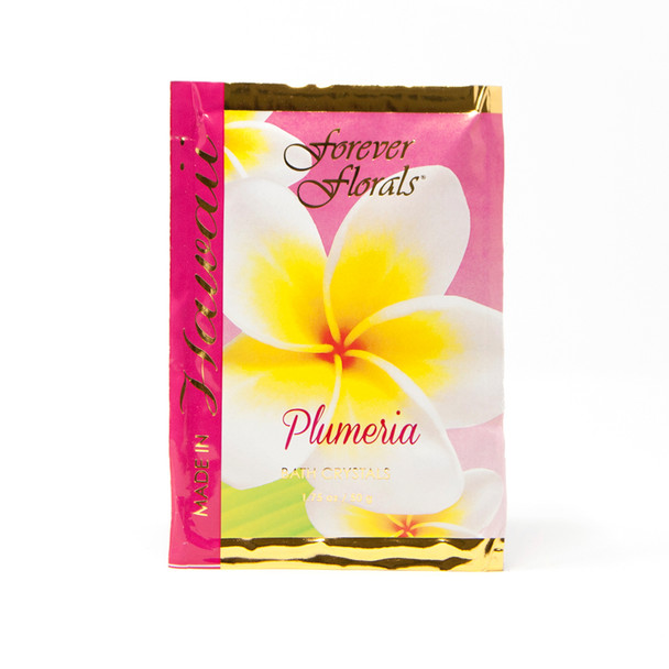 Plumeria Bath Crystals