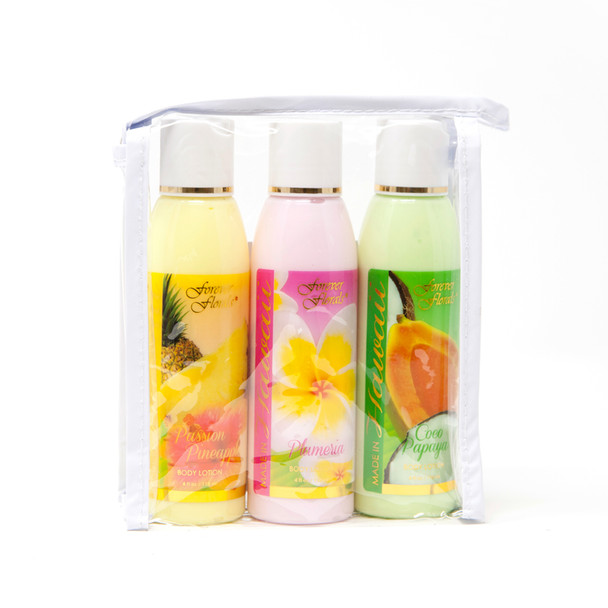 Hawaiian Scented Body Lotion - Travel Pack Assortment