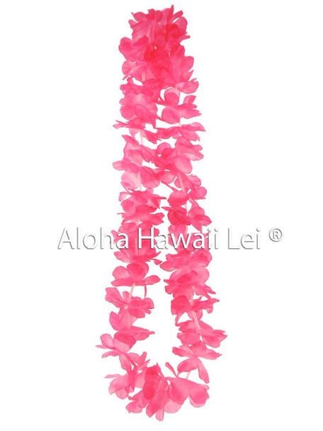 Island Lei (Pack of 25) - Pink