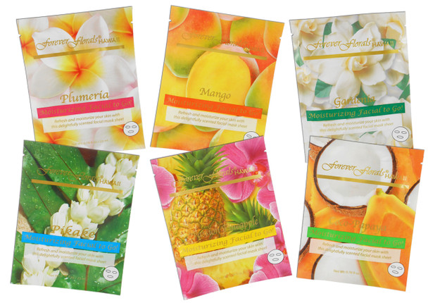 Facial Mask Variety (Pack of  6)