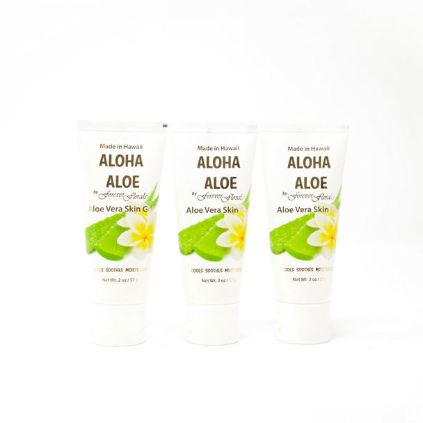 Aloha Aloe - Aloe Vera Skin Gel (Pack of 3)